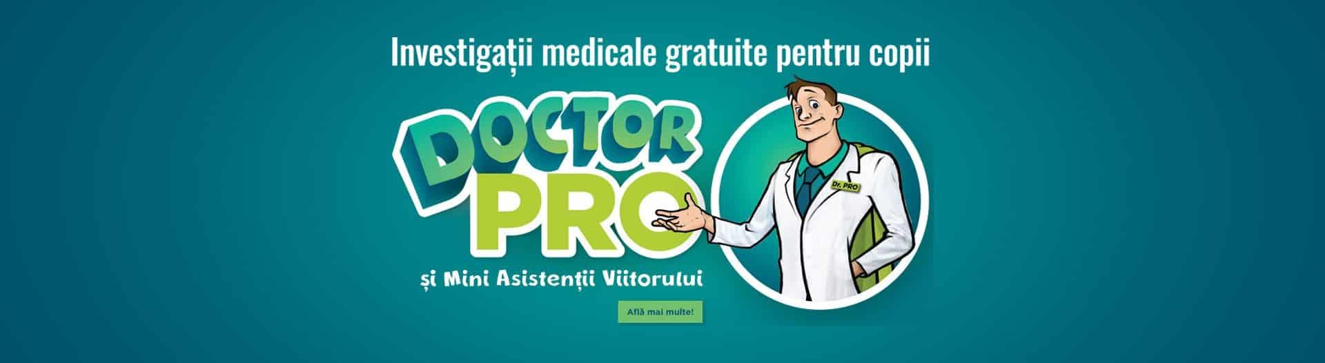 Investigații gratuite Pro Clinic